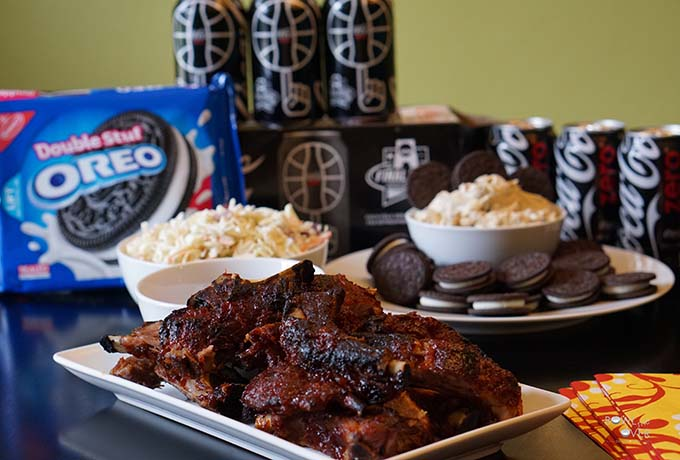 Baby Back Ribs and OREO Cookie Dough Dip