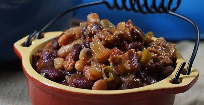 Baked Beans #SlowCooker
