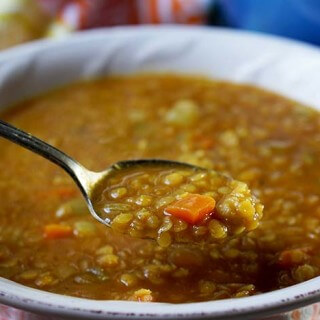 Golden Lentil Soup #30MinuteMeal