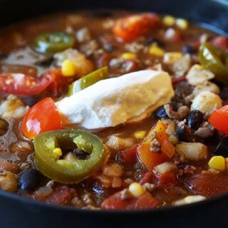 Souper Easy Taco Soup