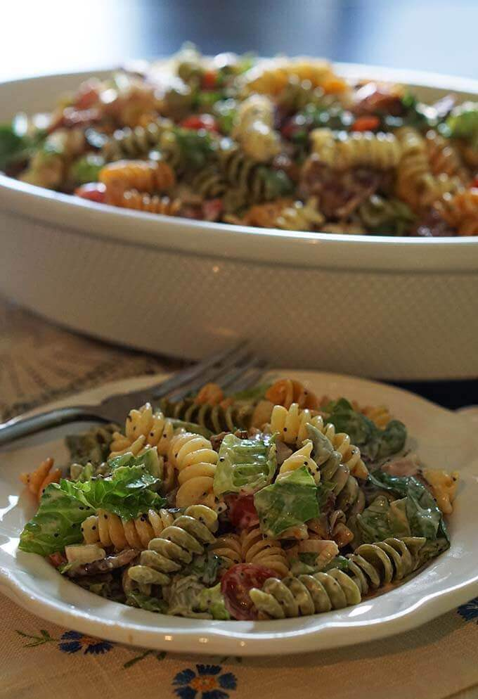 BLT Pasta Salad - a family favorite!
