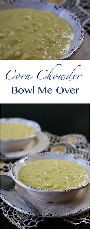 Corn Chowder Pin