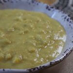 It takes only 30 minutes to make this lovely corn chowder!