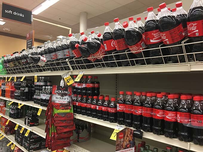 Found the Diet Coke® right here on aisle 16!