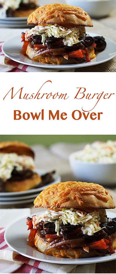 Mushroom Burger Pin