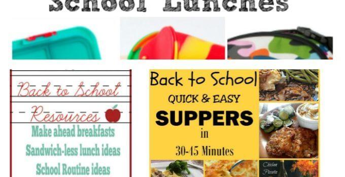 Foodie FriDIY 109 – Back to School!