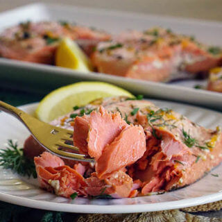 Easy Citrus Poached Salmon Recipe