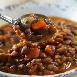 Vegetable Bean Soup Recipe