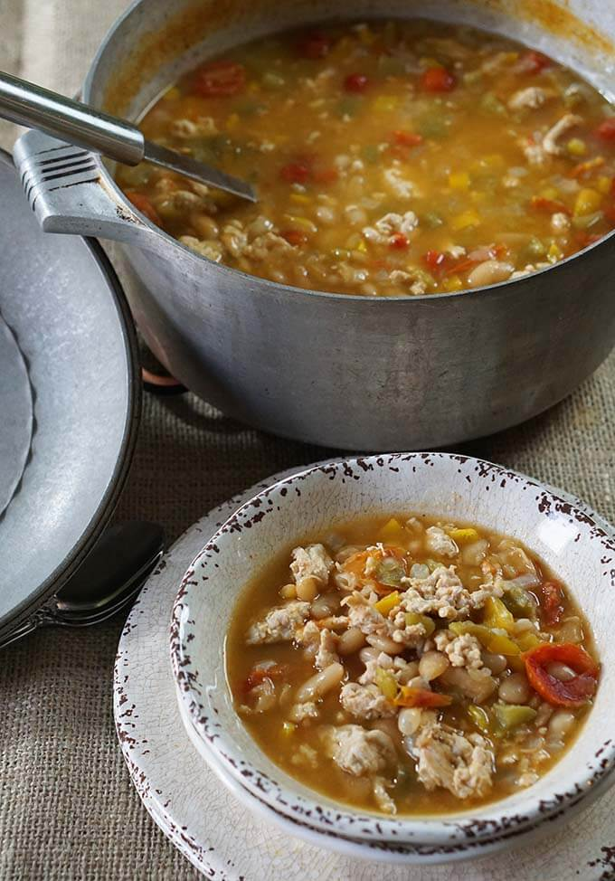 White Bean Turkey Stew