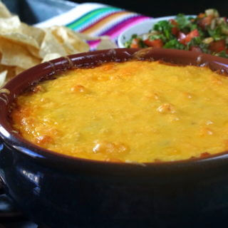 Easy Cheesy Salsa Bean Dip Recipe