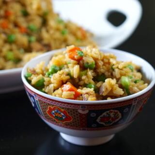 Chicken Fried Rice – Your favorite takeout made at home!