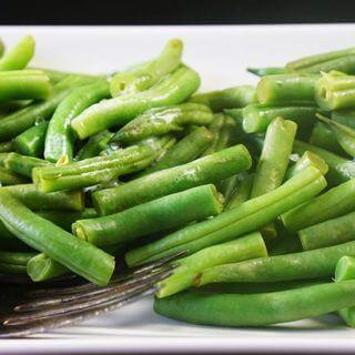 3 Ingredient Steamed Green Beans