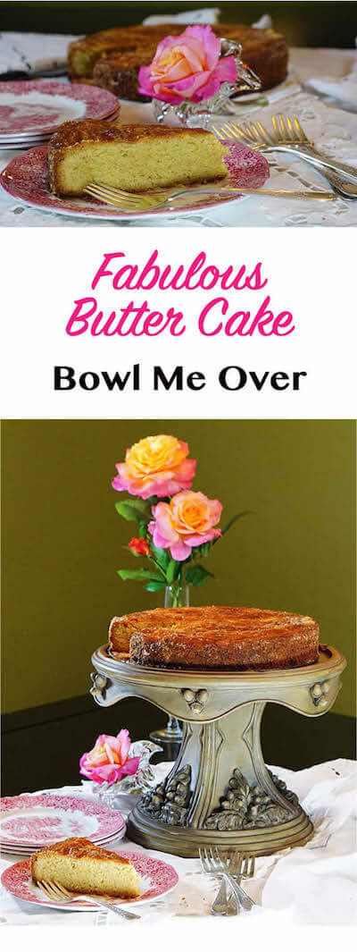 At a loss for what to make for dessert? This recipe for Butter Cake is fabulous, serves a crowd and a favorite in our home!