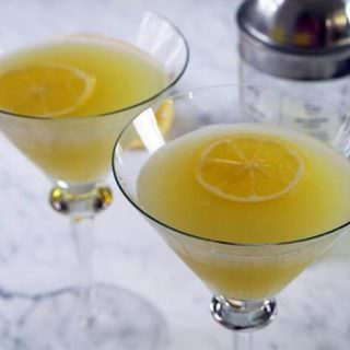 Lemon Drop Martini – it's noon somewhere!