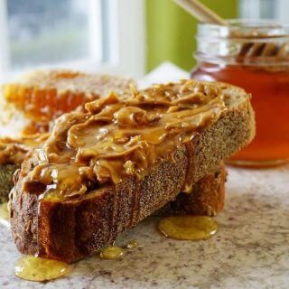 Peanut Butter Honey Sandwich – It's amazing what bees can do!