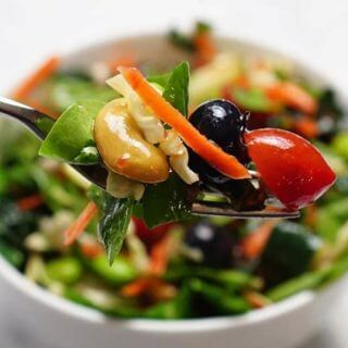 Healthy Superfood Salad #Vegan #MeatlessMonday