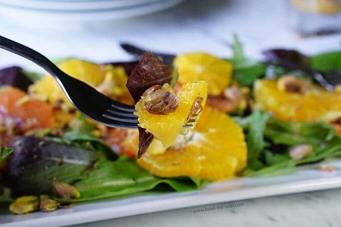 The salad dressing is easy too and so yummy you can just drink the leftovers! :)