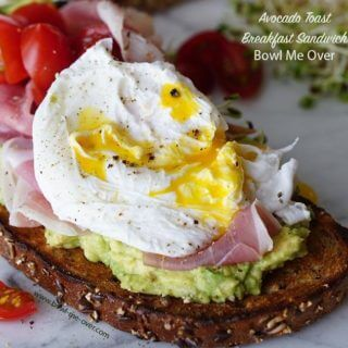 Avocado Toast Breakfast Sandwich