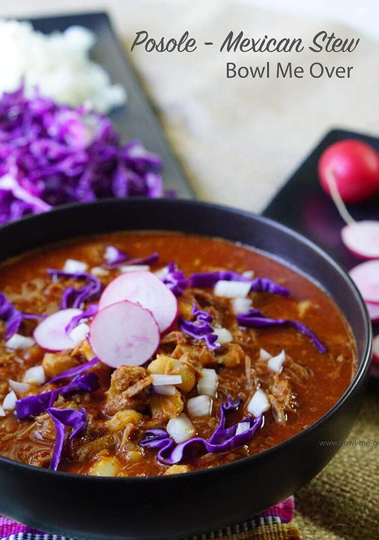 Authentic Posole Stew recipe from The Foodie Affair