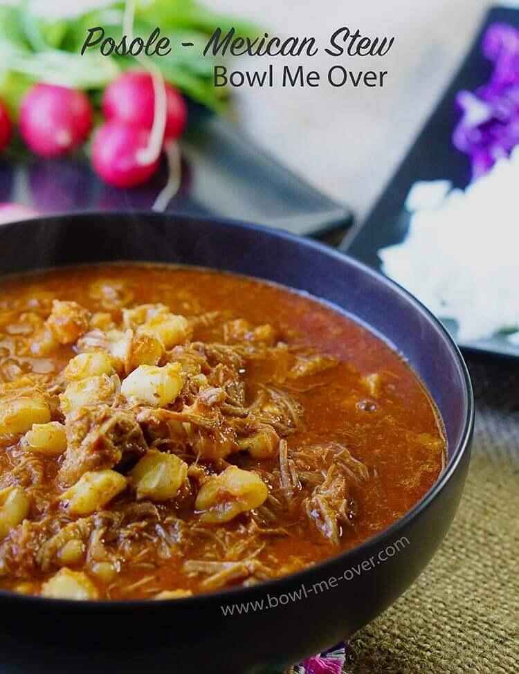 Authentic Posole - Mexican Stew