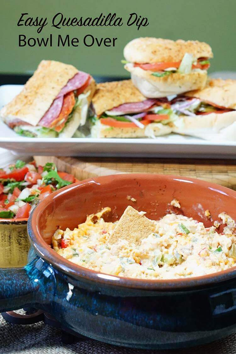 Simple ingredients come together easily to make this yummy dip!