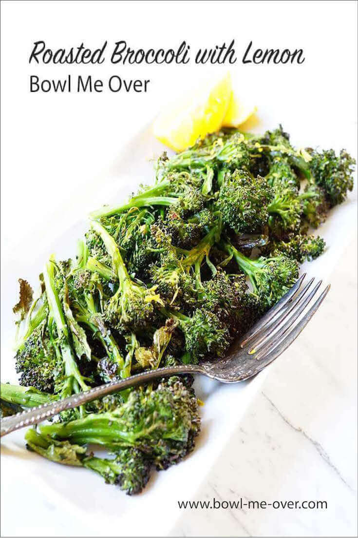 Do you roast vegetables? I love roasted broccoli! Topping it with fresh lemon gives it a super bright flavor and fresh taste!