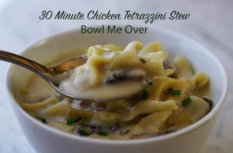 Chicken Tetrazzini Stew