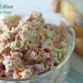 Deviled Ham plus more recipes to use leftover ham!