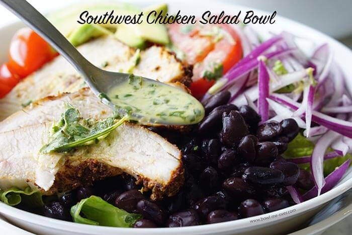 Super easy Chicken Salad Bowl