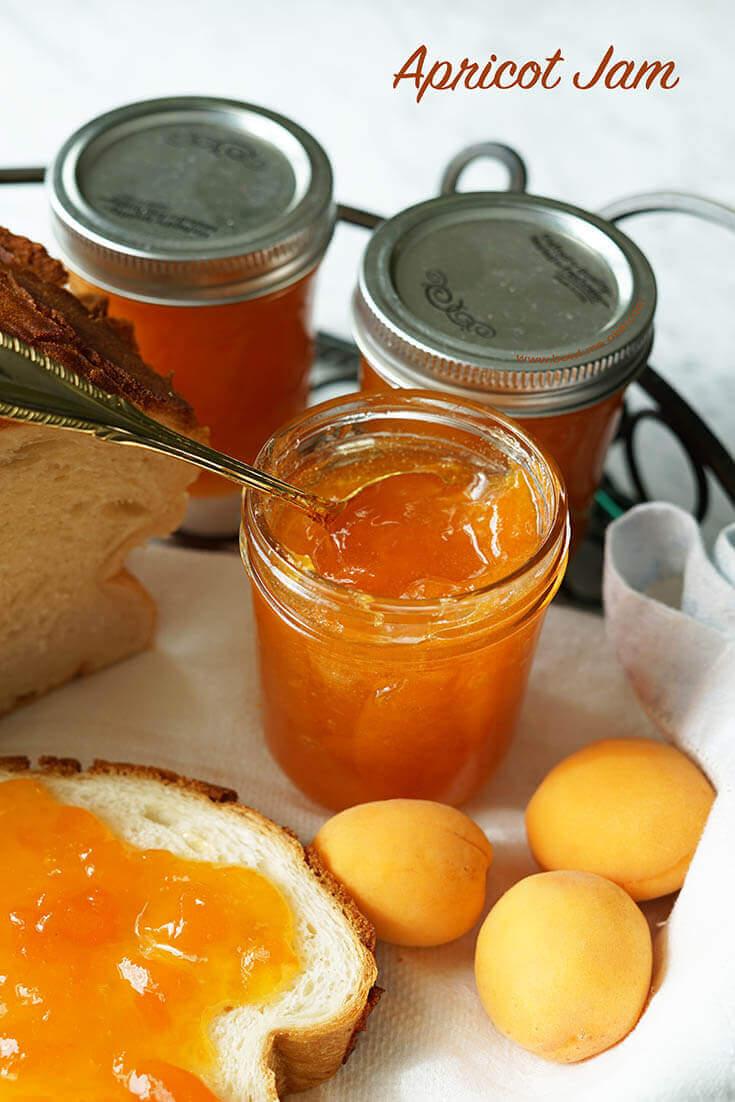 Apricot Jam tastes amazing!