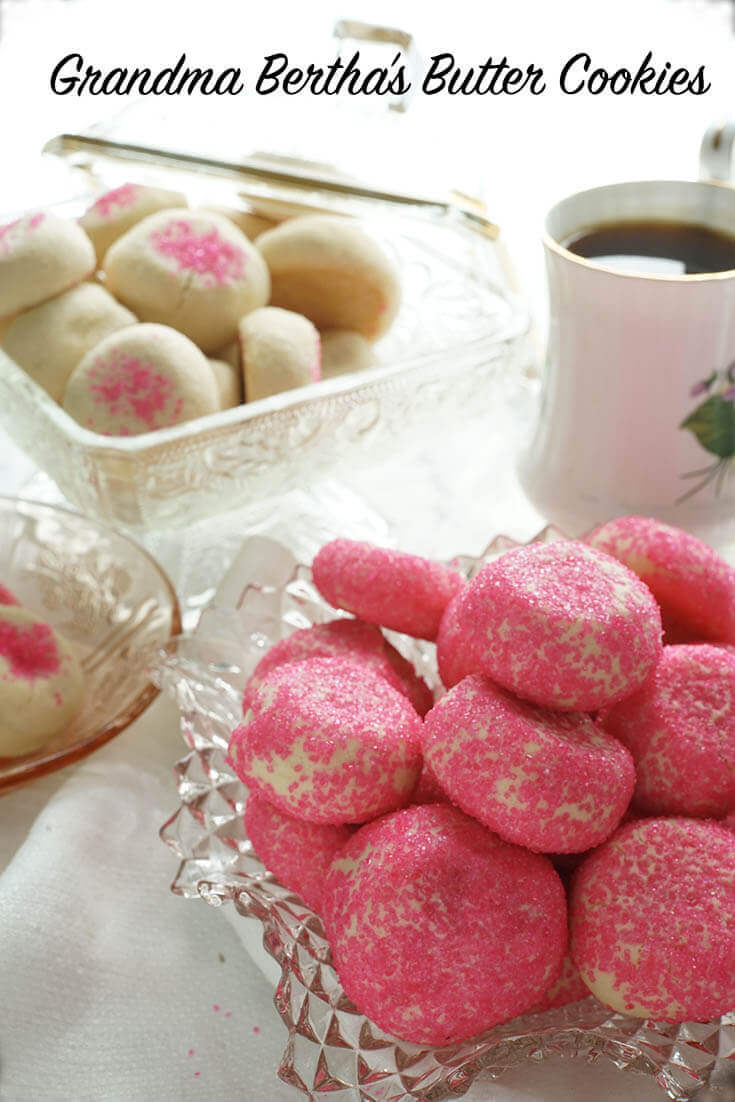 Platters of the Best Butter Cookies Recipe served with Coffee