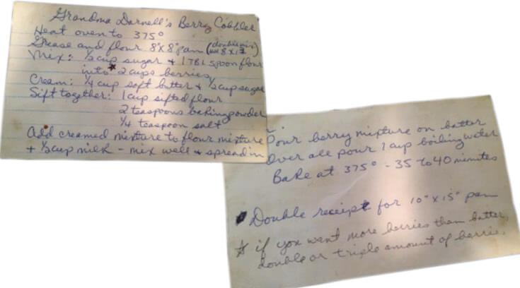 Grandma Darnell's Recipe