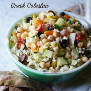 Healthy Greek Coleslaw Recipe