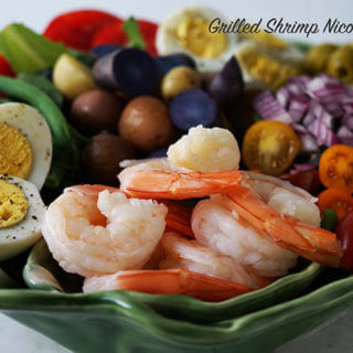 Grilled Shrimp Nicoise Salad Recipe