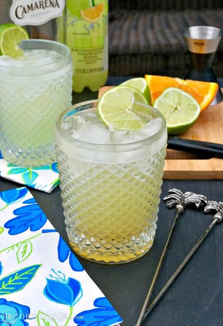 Low Sugar Margarita