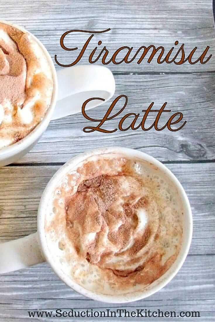 Tiramisu Latte