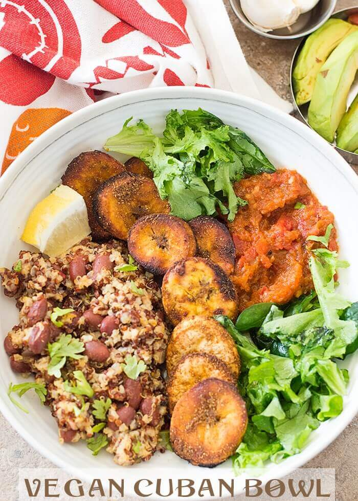 Vegan Cuban Bowl