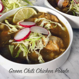 Green Chili Chicken Posole