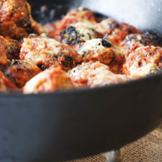 Healthy and easy Turkey Meatballs.