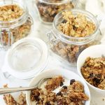 Making your own Granola is really easy and tastes 100 times better than what you buy in the grocery store! #Granola #HomemadeGranola #BowlMeOver