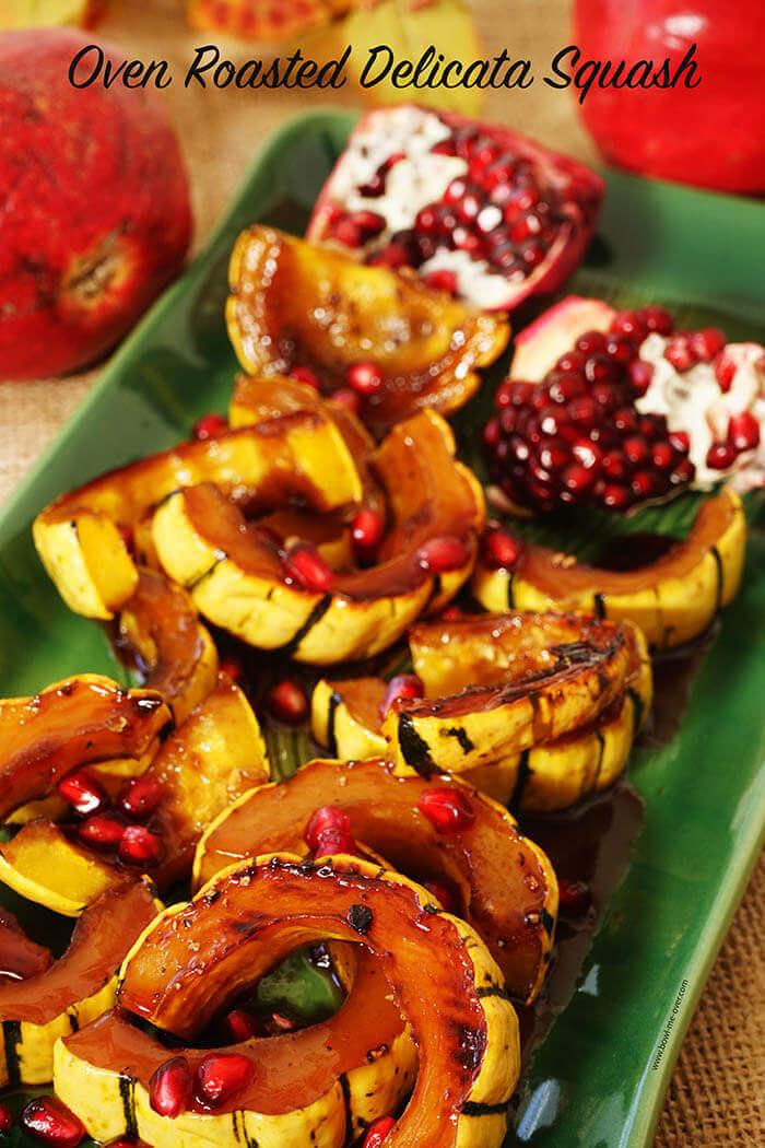 Oven Roasted Delicata Squash