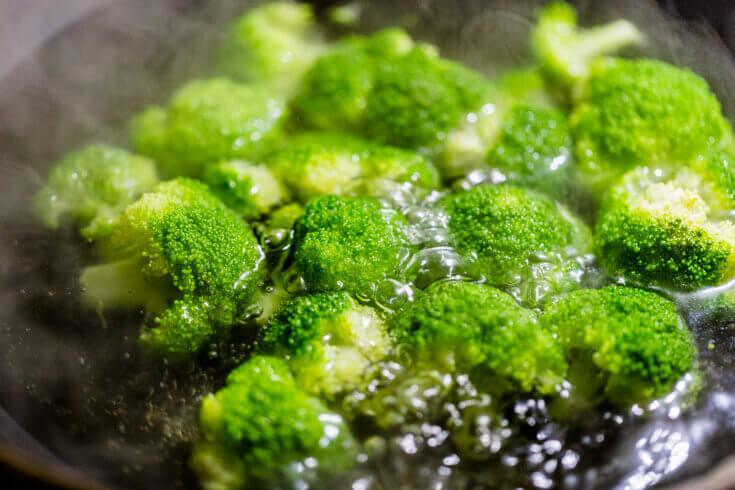 Sautéed broccoli.