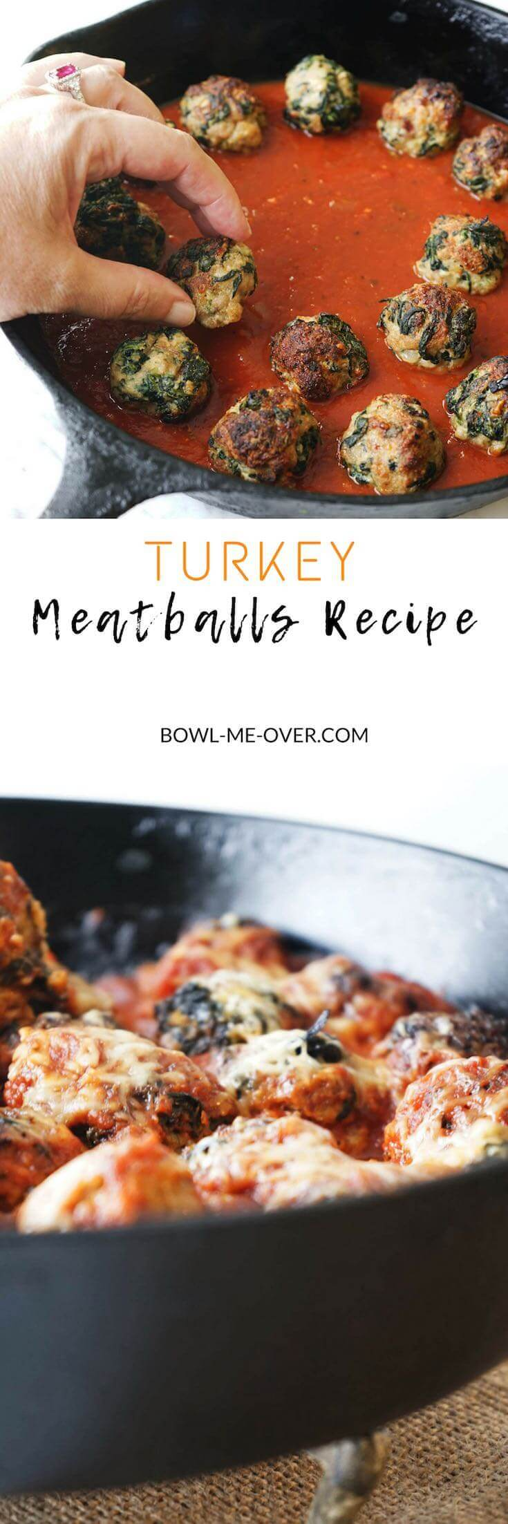 Do you enjoy moist delicious meatballs? So tender they melt in your mouth. These are a little spicy, a little sweet and shhhh…..don't tell but they are turkey meatballs so they are good for you too!