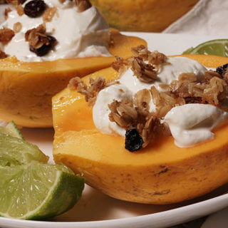 Papaya Breakfast Bowl