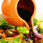 step by step instructions how to make balsamic vinaigrette