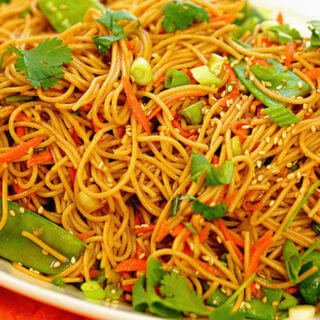 Teriyaki Noodles that are better than take-out!