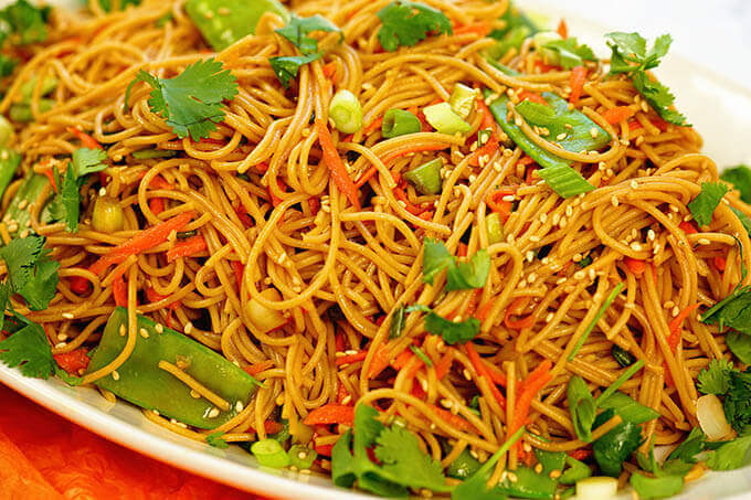 Teriyaki Noodles That Are Better Than Take Out Bowl Me Over