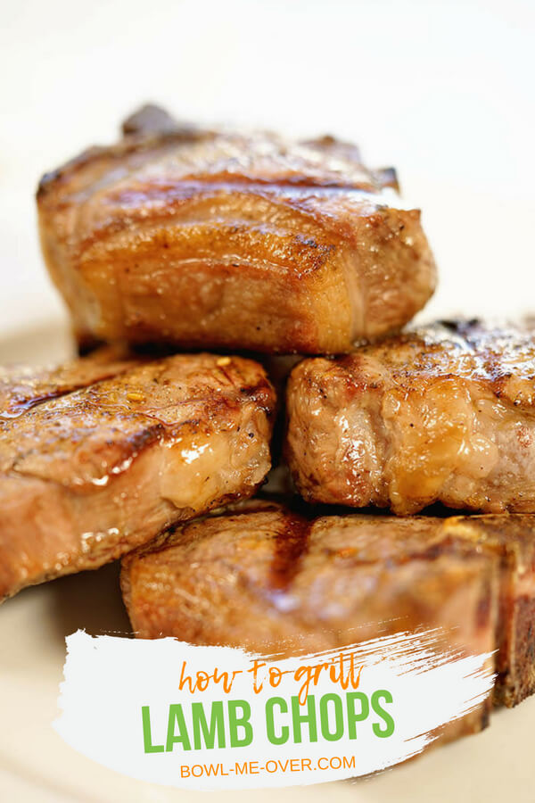 Lamb Chops are quickly seared and tender just follow a few easy steps. Step-by-step directions so you can grill lamb chops perfectly every time! #grilledlambchops #grillingtime #Howtomake... #bowlmeover #easyrecipe