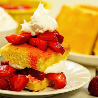Easy Strawberry Shortcake + Giveaway!