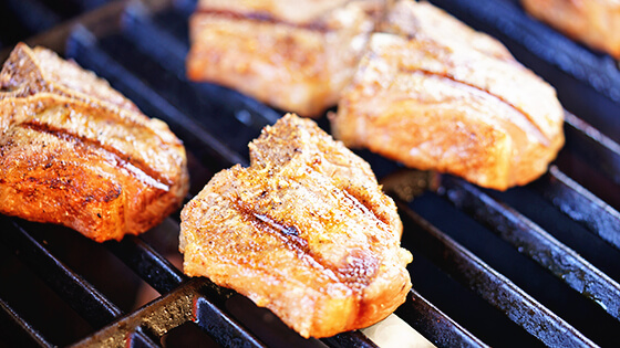 How to cook lamb chops on a the grill.